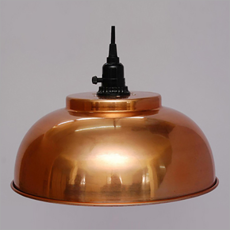 Antique Copper Pendant Light