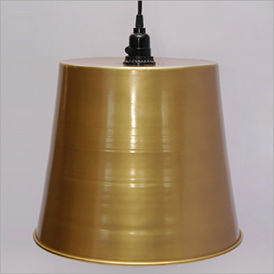 Iron Pendant Lamps Brass