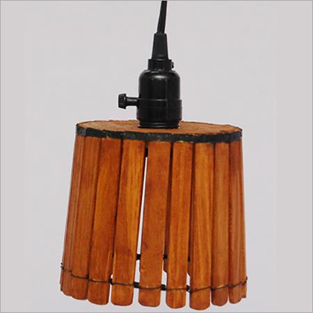 Wooden Chandelier Lamp