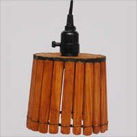 Wooden Chandelier Lamp