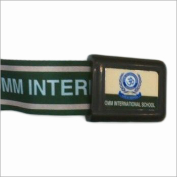 School Logo Belts