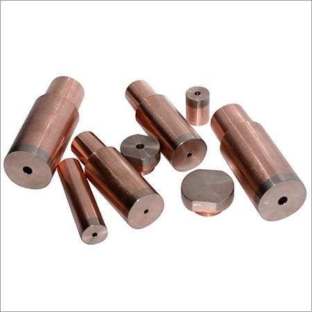 CuW加入Cucrzr点焊电极