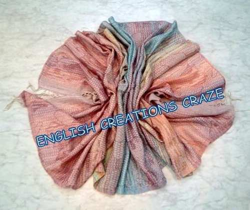Wool Polyester  Woven Scarves