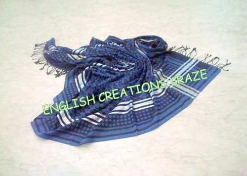 Wool Polyester Melange  Scarves