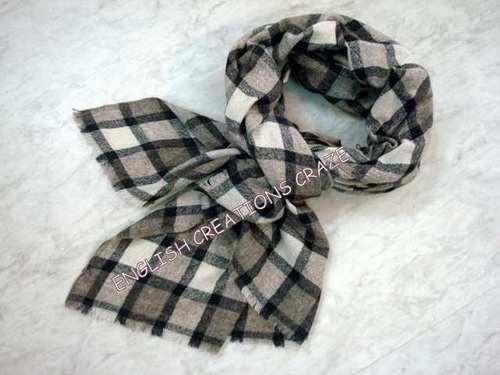 Yak Wool Melange Scarves