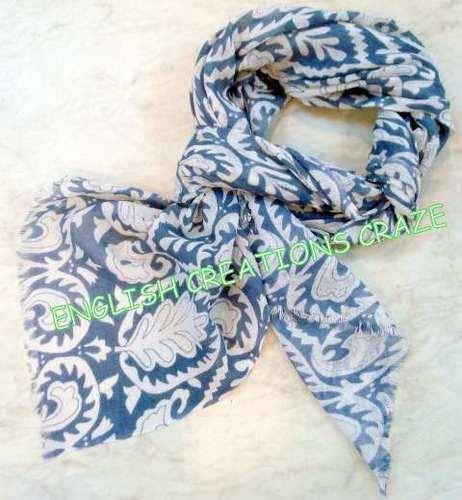 Wool Viscose Printed Scarves
