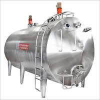 Milk Storage Tank - Horizontal