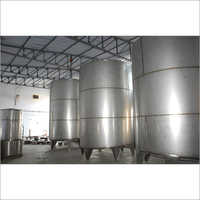 Milk Storage Tank - Vertical