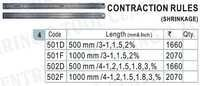 Contraction / Shrinkage Scale