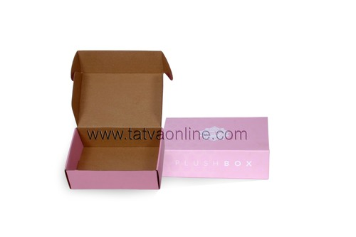 Simple Cake Type Corrugated Box