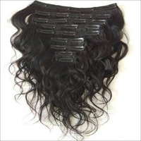 Indian Wavy clip in hair