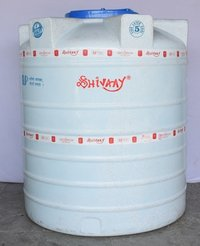 5 Layer plastic storage water tanks