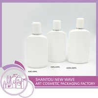 Screw Cap Plastic Cosmetic Bottle