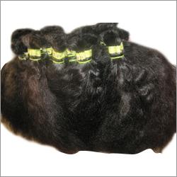 Machine Curly Weft Hair