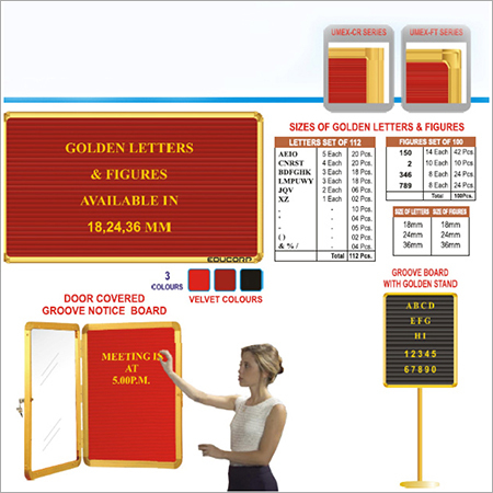 Writing and Display Boards