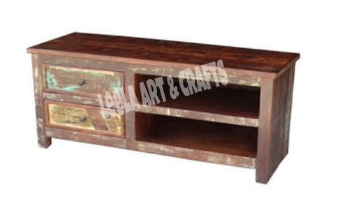 WOODEN SIDEBOARD (CABINET DRAWERS)