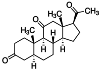 5α-Pregnane-3,11,20-trione