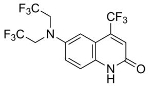 6-[Bis(2,2,2-trifluoroethyl)amino]-4-(trifluoromethyl)-2(1H)-quinolinone