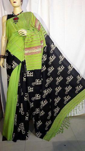 Printed Khesh Gurjari Saree