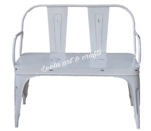METAL 2 SEATER CHAIR