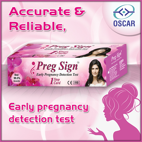 Pregnancy Card Test Kit