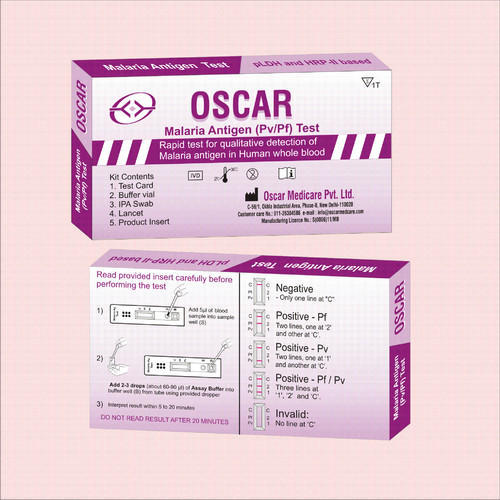 Malaria Antigen Card Tests Kit