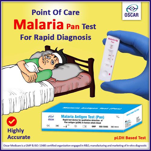 Malaria (Pan) Card Test Kit