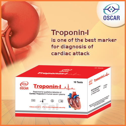Troponin-I Card Test