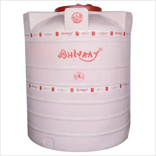4 layer Plastic water storage tank