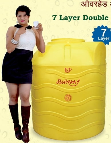 large plastic water tank