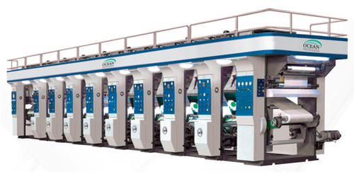 Multicolor Rotogravure Printing Machine