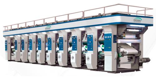 Multicolor Rotogravure Printing Machine
