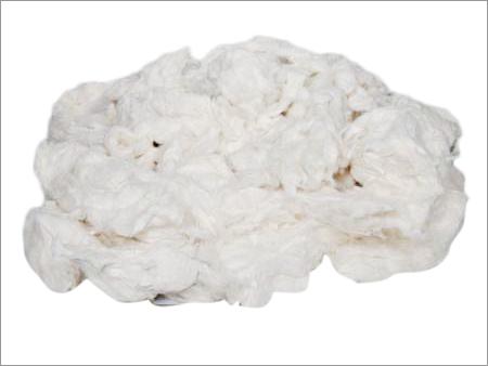 White Raw Cotton Waste
