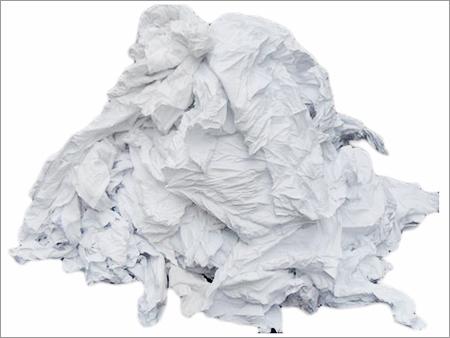 Industrial White Cotton Waste