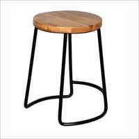 Cantung Black Colour Stool