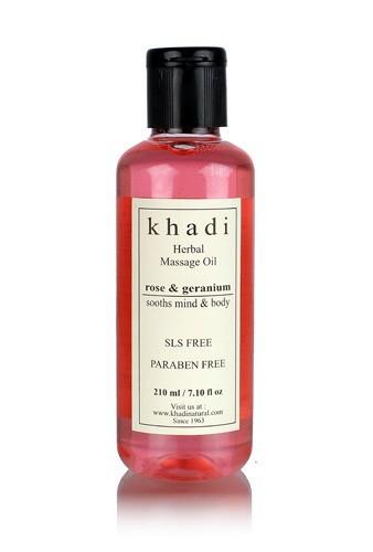 Rose & Geranium Massage oil (Soothes Mind & Body )