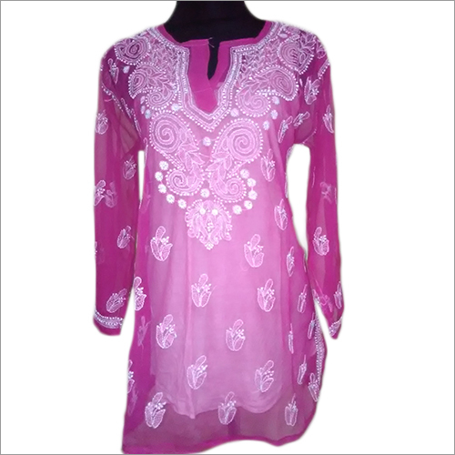 Lucknowi Chikankari Top