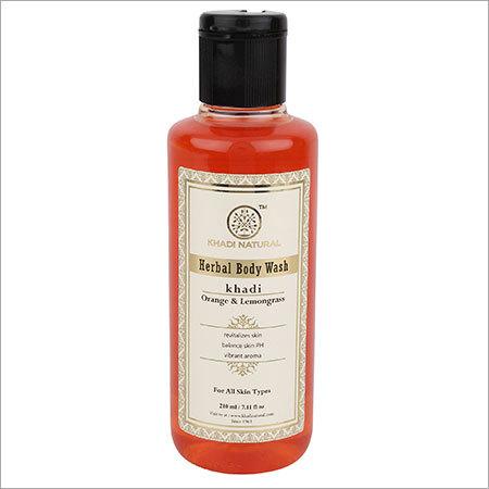 Orange and Lemongrass Body Wash