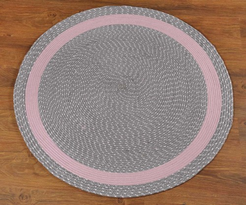 Replica Decorative Viscose Yarn Round Rug