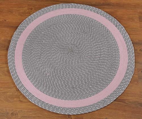 Replica Decorative Viscose Yarn Round Rug