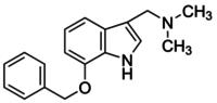 7-Benzyloxygramine