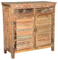 Reclaimed Shutter 4 Drawer Sideboard