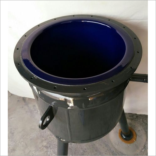 Glass Lined Reactor Pan 100 Ltr