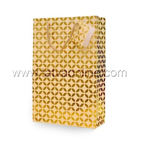 Golden Party Paper Bags