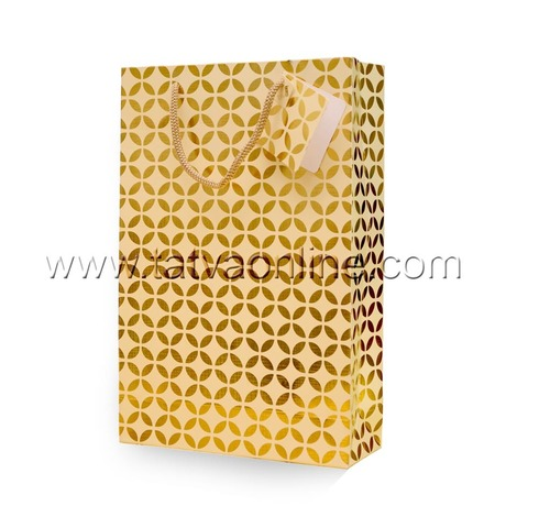 Golden Party Paper Bags