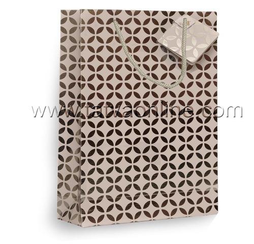 Handmade Silver Paper Bag