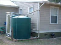Dry Rainwater Harvesting System
