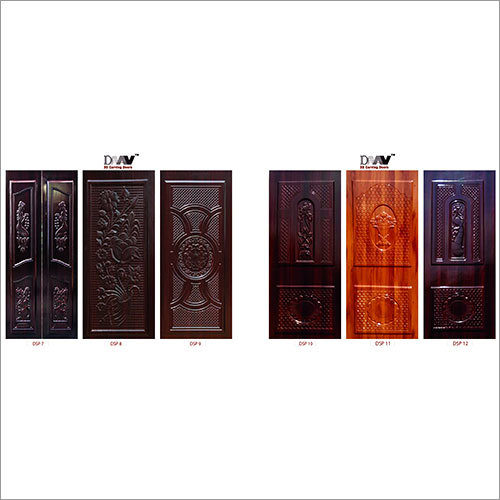 3D Carving Door