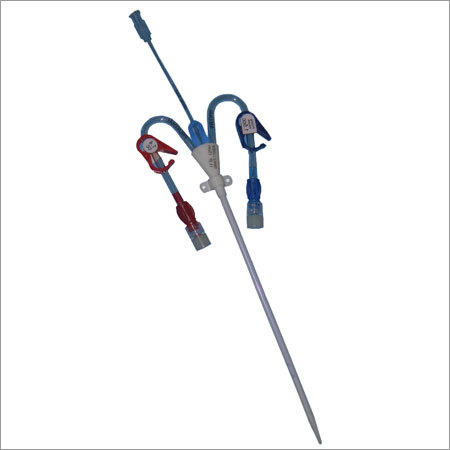 Triple Lumen Dialysis Catheter