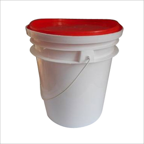 White Lubricant Container